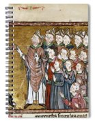 Louis Ix (1214-1270) Spiral Notebook