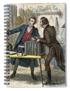 Louis J.m. Daguerre Spiral Notebook