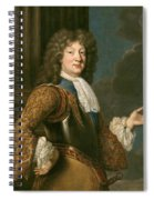Louis Of France The Grand Dauphin Spiral Notebook