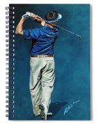 Louis Osthuizen Open Champion 2010 Spiral Notebook