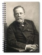 Louis Pasteur (1822-1895) Spiral Notebook