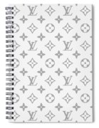 Louis Vuitton Pattern - Lv Pattern 14 - Fashion And Lifestyle Spiral Notebook