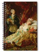 Louis Xv And Madame Dubarry Spiral Notebook