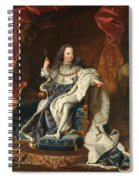 Louis Xv Of France As A Child Spiral Notebook