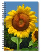 Louisa, Va. Sunflower 6 Spiral Notebook