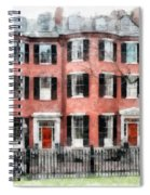Louisburg Square Beacon Hill Boston Spiral Notebook