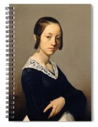 Louise-antoinette Feuardent Spiral Notebook