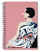 Louise Brooks In Hollywood Spiral Notebook