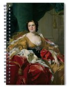 Louise-elisabeth Of France, Wife Of The Infante Philip, Future Duke Of Parma Spiral Notebook