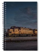 Louisville And Indiana Railroad At Jeffersonville Indiana Spiral Notebook