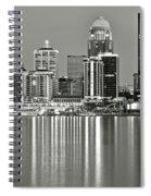 Louisville Gray Spiral Notebook