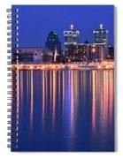 Louisville Lights Up Nicely Spiral Notebook