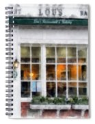 Lou's Of Hanover New Hampshire Spiral Notebook