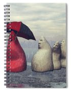 Lousy Weather Spiral Notebook