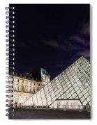 Louvre Museum 2 Art Spiral Notebook
