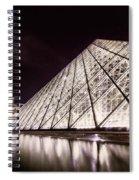 Louvre Museum 4 Art Spiral Notebook