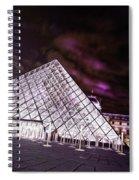 Louvre Museum 5 Art Spiral Notebook