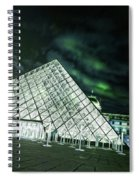 Louvre Museum 5b Art Spiral Notebook