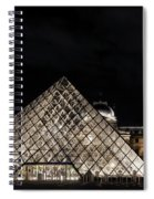 Louvre Museum 6 Art Spiral Notebook