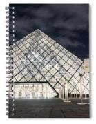Louvre Museum Art Spiral Notebook