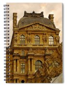 Louvre Reflection Spiral Notebook