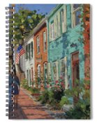 Love Along The C@o Canal Spiral Notebook