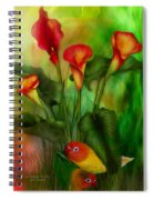 Love Among The Lilies  Spiral Notebook