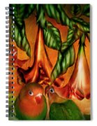 Love Among The Trumpets Spiral Notebook
