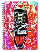 Love And Converse Spiral Notebook
