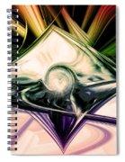 Love And Light Spiral Notebook