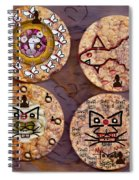 Love And Rice Cake Spiral Notebook