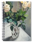 Love And Roses Spiral Notebook