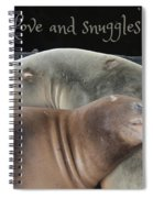 Love And Snuggles Spiral Notebook