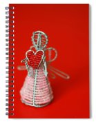 Love Angel Spiral Notebook