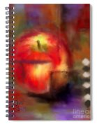 Love At First Bite Spiral Notebook