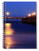 Love Blue Spiral Notebook
