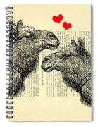 Love Camels Spiral Notebook