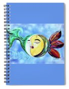 Love Connect - You Are My Moon And Sun Spiral Notebook