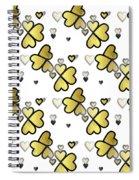 Love Connection - Valentines Spiral Notebook