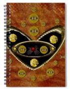 Love Day And Night And In The Future Spiral Notebook