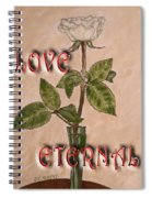 Love Eternal Spiral Notebook