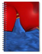 Love Flow Spiral Notebook