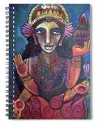 Love For Lakshmi Spiral Notebook