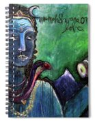 Love For Shiva Spiral Notebook