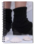 Love For Tap Dance Shoes In Dance Warmers Spiral Notebook