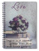 Love Forever Spiral Notebook