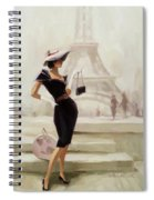 Love, From Paris Spiral Notebook