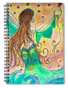 Love From The Sea Spiral Notebook