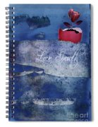 Love Growth - V2t2c3b Spiral Notebook