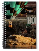Love Hope And A Hot Air Balloon Spiral Notebook